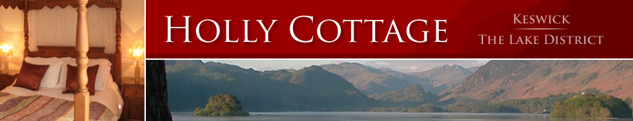 Holly Self-catering Cottage in Keswick, The Lake District, Cumbria, North West England